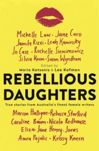 Book cover - Rebellious daughters