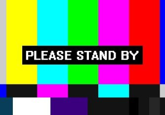 Image of stand-by message